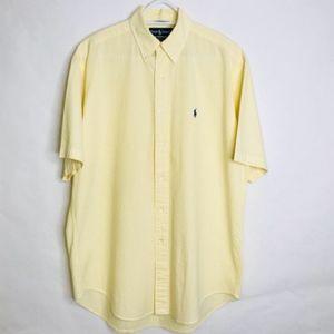 Ralph Lauren Men's Button Front Mens Medium.